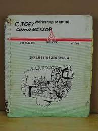deutz b fl911 912 w 913 c diesel engine workshop manual • 79 99 oem deutz diesel engine b fl 911 912 w 913 c