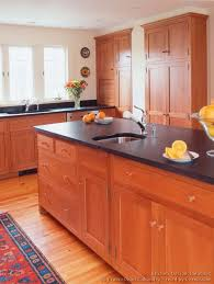 Hickory Wood Kitchen Cabinets Natural Cherry Modern Color Cabinet Hickory Wood Cabinets0
