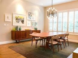 mid century modern rugs vintage dining room brilliant decor los angeles