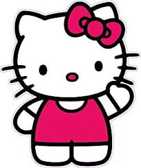 Hello Kitty Decal Version 1 is 5