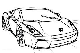 lamborghini coloring page coloring pages lamborghini huracan colouring pages