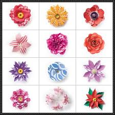 Flower Paper Craft Flower Papercrafts Papercraftsquare Com