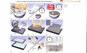 the diagram shows the process of making recycled paper from old  essay topics the diagram shows the process of making recycled paper from old newspaper summarise the information by selecting and reporting the main