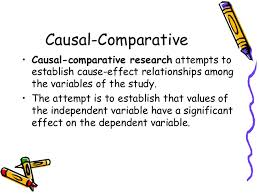 Causal Comparative Study Causal Comparative Research Paper Research Paper Academic Service