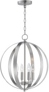 maxim 10031sn provident satin nickel mini chandelier lamp loading zoom