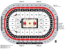Chicago United Center Concert Seating Chart United Center Seating Chart Chicago Best Picture Of Chart