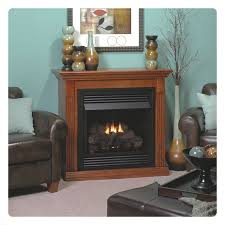 empire vail 26 vent free special edition natural gas fireplace with wooden mantel cherry