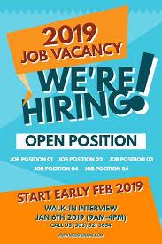 Flyer Jobs Job Fair Event Now Hiring Poster Flyer Template Hiring