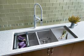 incredible kitchen sinks with drainboards inspiring stainless steel attached