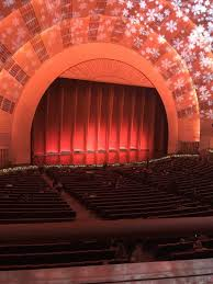 Radio City Music Hall Section 1st Mezzanine 6 Row A Seat 611