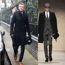 hot new fashion slim fit men casual trench coat mens long winter coats mens man wool uk style outwear overcoat outerwear by chenshuiping