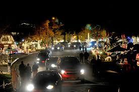 Rancho Cucamonga Festival Of Lights Rancho Cucamonga Residents Seek Relief From Christmas Light