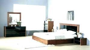 Contemporary White Lacquer Bedroom Furniture Amusing Sets Decor ...