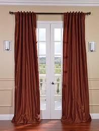 alluring burnt orange sheer curtains and burnt orange rust colored curtains curtain menzilperde