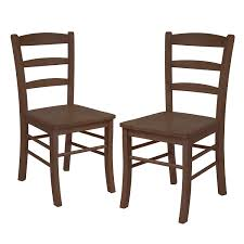 dark wood dining room chairs. Amazon.com: Winsome Wood Ladder Back Chair, Light Oak, Set Of 2: Kitchen \u0026 Dining Dark Room Chairs C