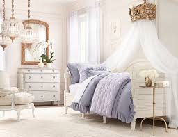 rustic white romantic girls room ideas