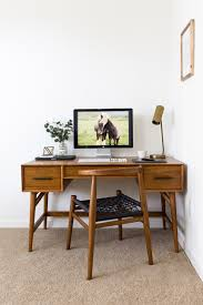 west elm office. Trendy Ideas West Elm Mid Century Desk A Small Space That Balances Work Life Front Main Office N
