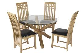 Wooden Round Kitchen Table Small Oak Kitchen Table And Chairs Powell Turino Grey Oak Dining