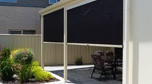 custom made outdoor blind