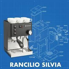 Máy Pha Cà Phê Rancilio - Rancilio Silvia máy pha cà phê cá nhân được yêu  thích nhất 2019. #Rancilio #Epicure #Mayphacaphe