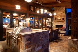 awesome pendant lighting with sloped ceiling and isokern fireplaces plus stone floor
