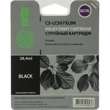 <b>Картридж</b> Cactus CS-<b>LC567XLBK Black</b> для <b>Brother</b> MFC-J2310 ...