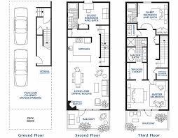 Campus Corner Townhouse Floor Plan 4 Bedrooms 2 Bathroom Townhomes Floor Plans