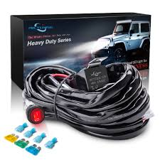 How Many Amps Do Led Light Bars Use Us 15 78 26 Off Mictuning Hd 300w Led Light Bar Wiring Harness Fuse 40amp Relay On Off Waterproof Switch 1 Lead In Wire From Automobiles