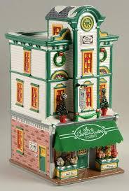 department 56 snow village secret garden florist with box