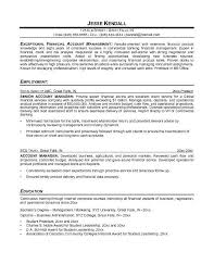 Accounting Manager Sample Resume