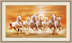 right direction seven horse painting as per vastu paintings at home are not only used for attractiveness or decoration of home they also have significant