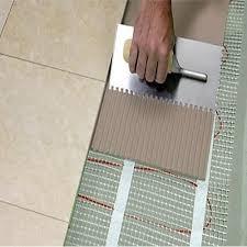 fixing glass mosaic tile adhesive