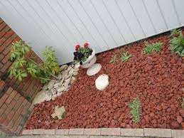 vigoro 0 5 cu ft decorative stone red lava rock 440897 at the