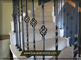 wrought iron stair railing kits.  Wrought Iron Stair Balusters Parts Iron Handrails Interior Stair Wrought  Railings Kits Rod  For Railing Kits A