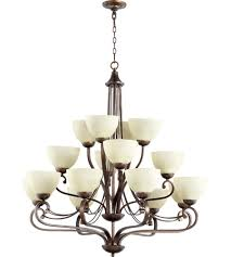 quorum 6031 16 86 lariat 16 light 41 inch oiled bronze chandelier ceiling light