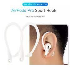 100 adet AirPods pro tutucu apple için bluetooth kulaklık silikon kulak  kancası hava Pods 3 kulak kancası spor kulaklık koruma  aksesuarları|Earphone Accessories