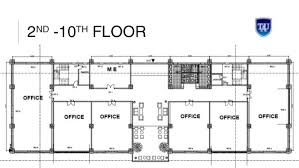 office building designs. 2ND -10TH FLOOR Office Building Designs