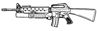 Small Picture Gun Coloring Pages Bestofcoloringcom