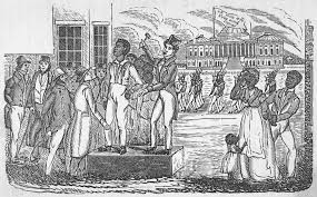 slavery in america back in the headlines auctioning slaves in south carolina