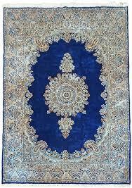 persian rug blue 6 7 x 9 10 navy blue kerman persian rugs madeline persian rug