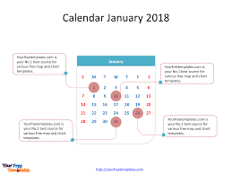 monthly calendar 2018 template printable calendar 2018 free powerpoint templates