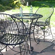 metal outdoor furniture clearance round table patio furniture sets elegant 3 piece black metal patio throughout metal outdoor furniture