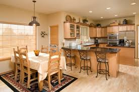 Kitchen And Dining Room Custom Design