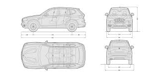 BMW 3 Series bmw 3 series height : BMW X3 – sizes, dimensions and towing weights | carwow