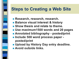 history day project categories types of presentations n research  11 steps