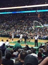 Td Garden Section Loge 20 Row 6 Seat 15 Boston Celtics Vs