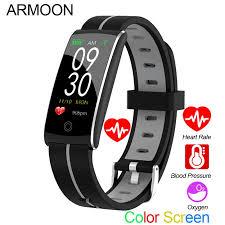 <b>Smart Bracelet F10P</b> Heart Rate Blood Pressure Fitness Tracker ...