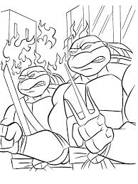 Ninja Turtles Kleurplaat Tv Series Kleurplaat Animaatjesnl