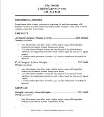Where Can I Find Free Resume Templates Where Can I Find A Free
