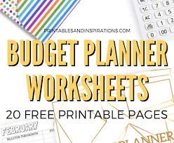 Budget Planners Free Binder Printables Archives Printables And Inspirations